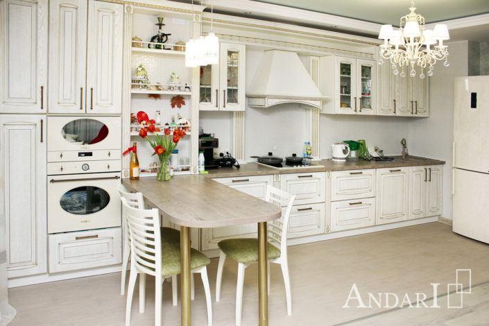 кухня массив андари